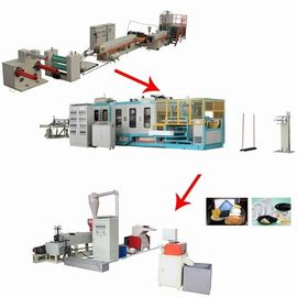 China Auto Forming And Cutting Take Away Food Box Making Machine Energy - Saving supplier