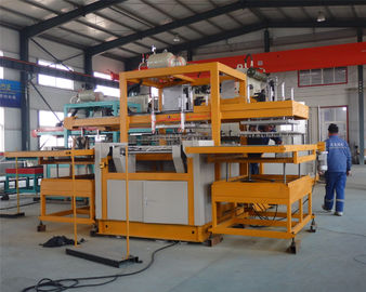 China Fast Lunch Box Making Machine Water Tank Cooling Throughput 120kg/H supplier