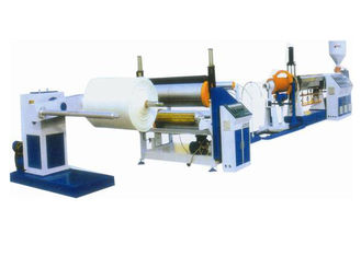 China 0.3 - 4 Mm Thin PE Foam Sheet Extrusion Line Fast Speed Three Phase 380v supplier