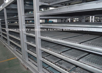 Factory supply rotary type HONGRUN full automatic egg tray egg box production line in China