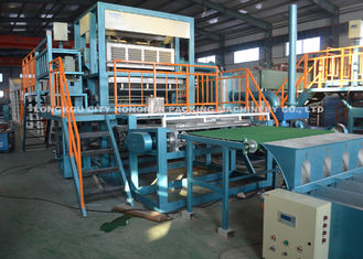 Paper Pulp Egg Tray Making Machine , Paper Pulp Machine Producing Egg Box