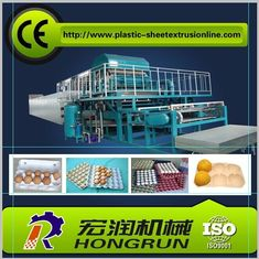 China Fully Automatic Egg Tray Machine , Paper Pulp Molding Machinery For Egg Packaging supplier