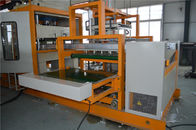 China Water Cooling Disposable Lunch Box Making Machine / Thermocol Plate Making Machine company