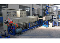China White PS Foam Sheet Extrusion Line / Double Screw plastic Foam Extruder factory