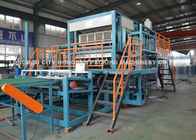 China High Speed 4000 PCS / H Egg Carton Machine / Egg Crate Making Machine factory