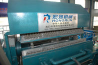 China Fully Automatic Egg Tray Machine 220V 50Hz Three Mutually Four Lines factory