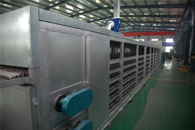 Energy Saving Egg Tray Production Line , Small Capacity Rotary Type Egg Box Making Machine