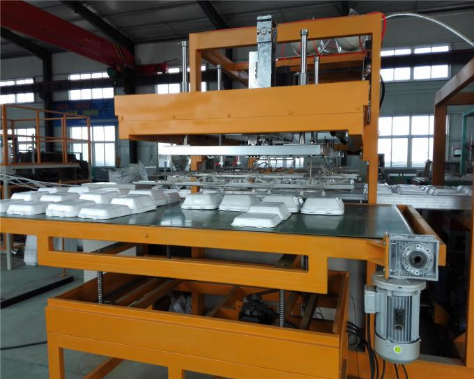 Fast Lunch Box Making Machine Water Tank Cooling Throughput 120kg/H
