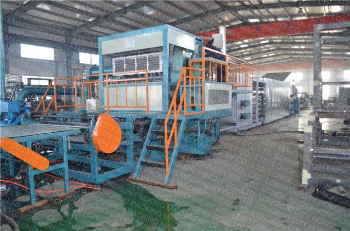 Molded Pulp Egg Tray Machine Big Capacity Fully Automatic Rotary Type