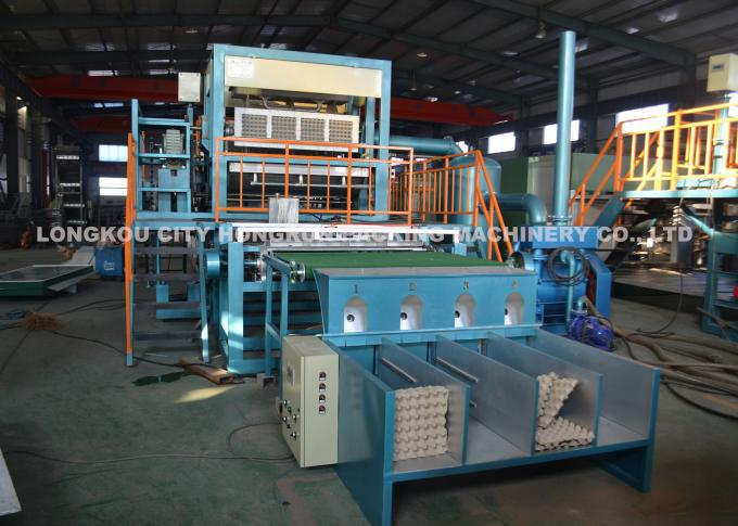 Automatic Egg Carton Pulp Molding Machine Recycled Paper Egg Tray Machine