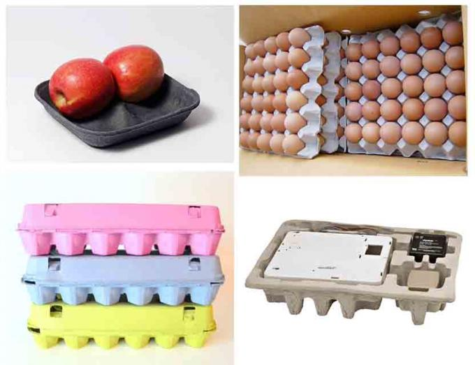 High Output Rotary Pulp Egg Tray Making Machine Egg Box Moulding Machine