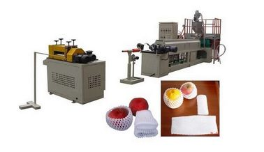China Fruit Net / Foam Plate Making Machine Screw Speed 5-60 R / Min distributor