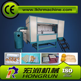 China 1000pcs/hr Semi-Automatic  egg tray making machine distributor