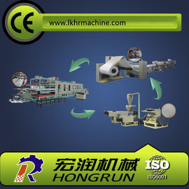 China Food Packaging Plastic Container Production Line , automatic PS foam plate making machine distributor