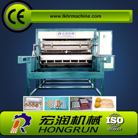 China Automatic Rotary Paper Egg Tray Machine , pulp molding egg carton making machine 2000-8000pcs/h distributor