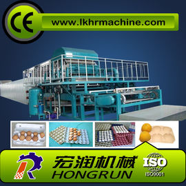 4000pcs/h 8 sides rotary type automatic egg tray machine with 6 layer drying line