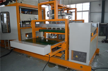 China Water Cooling Disposable Lunch Box Making Machine / Thermocol Plate Making Machine distributor