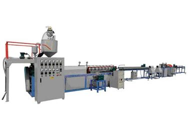 China Water Cooling EPE Foam Plastic Pipe Extrusion Line / Rod Making Equipment distributor