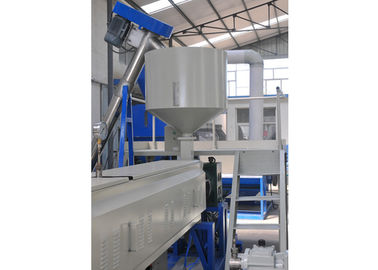 China Expanded Polystyrene Foam Sheet Extrusion Machinery , Twin - Screw Plastic Sheet Extruder distributor