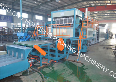 China Recycled Paper Egg Tray Machine Natural Gas Fuel Type One Year Warranty distributor