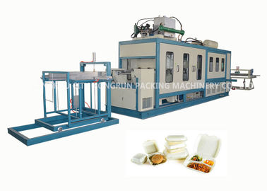 China High Speed PS Foam Fast Food Box Machine / Automatic Thermoforming Machine distributor