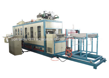 China Three Phase 380V 50Hz Fast Food Box Machine / Food Container Production Line distributor