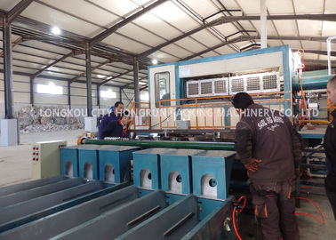 China Full Automatic Egg Tray Making Machine Large Capacity High Efficiency distributor