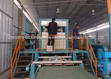 China Rotary Drum Paper Fruit Tray Machine High Capacity 2000 - 2500PCS / H factory