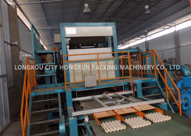 China Automatic Paper Pulp Recycling Production Line For Egg Tray Making Machine distributor