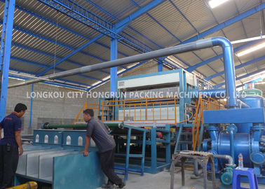 China High Speed Waste Paper Egg Box Machine Full Throttle Operation CE Approved distributor