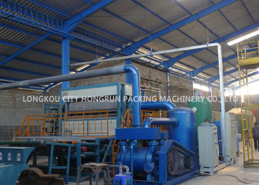 China High Efficient Egg Carton Making Machine Short Install Time 1 Year Warranty distributor