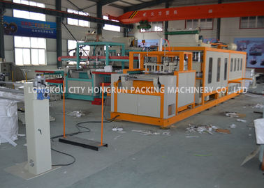 China Touch Screen Control Disposable Food Containers Machine 150KG / H distributor