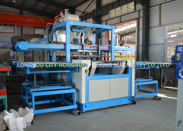 China Water And Air Cooling Disposable Food Container Making Machine  Capacity 230-320kg/H distributor