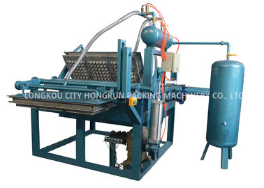 China 1000pcs/Hr Semi-Automatic Paper Pulp Egg Tray /carton Making Machine distributor