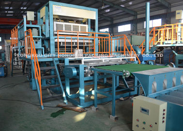 China 3000pcs/Hr Automatic Rotary Recycled Paper Egg Tray Making Machine distributor