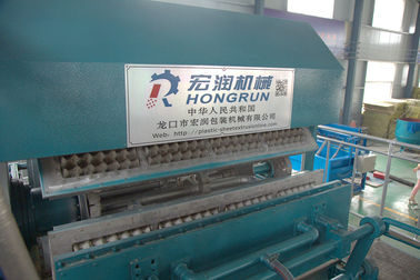 China Paper Egg Tray Making Machine , Pulp Molding Machine distributor