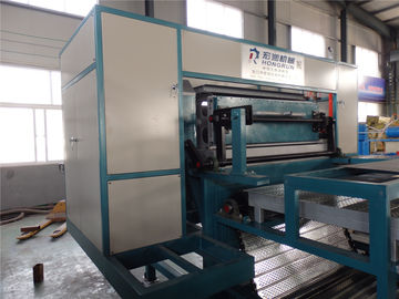 Roller Type Paper Egg Tray Machine , Egg Tray Forming Machine